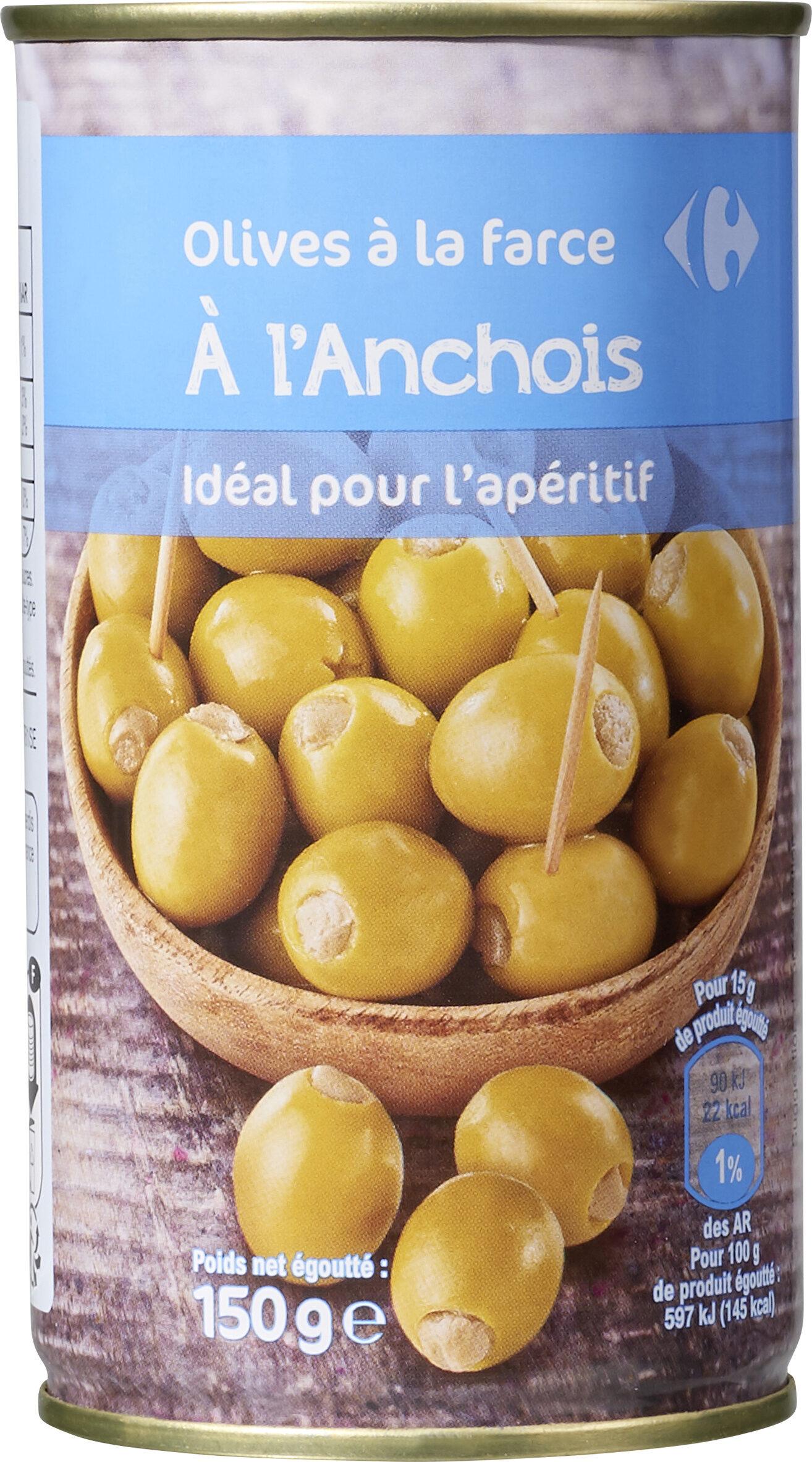 olive à la farce A L'ANCHOIS - Produkt - fr