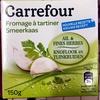 Fromage à tartiner, Ail & Fines Herbes - Produit