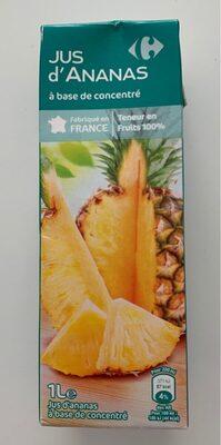 Jus d'ananas  à base de concentré - Produit - fr
