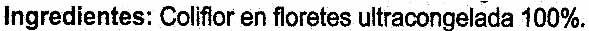 Coliflor - Ingredientes - es