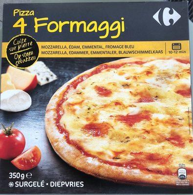 Pizza cuite sur pierre - 4 Formaggi - Product