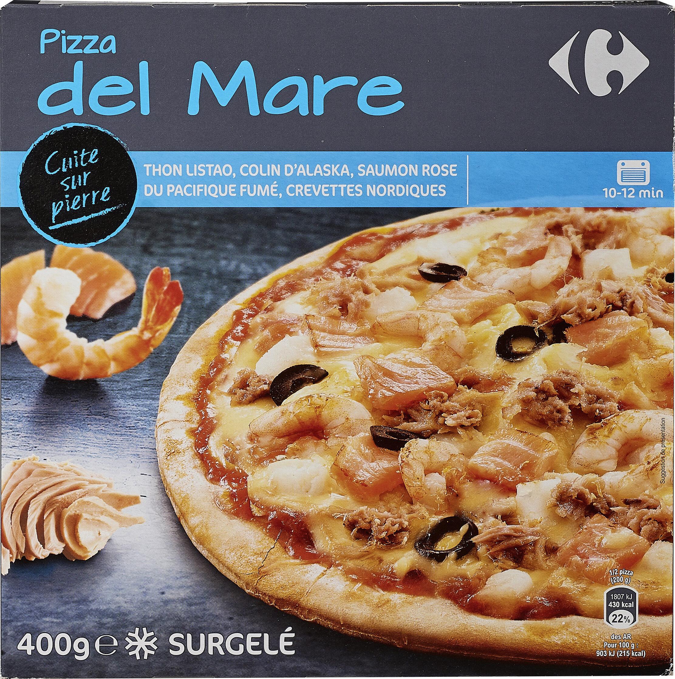 Pizza del Mare - Produit - fr