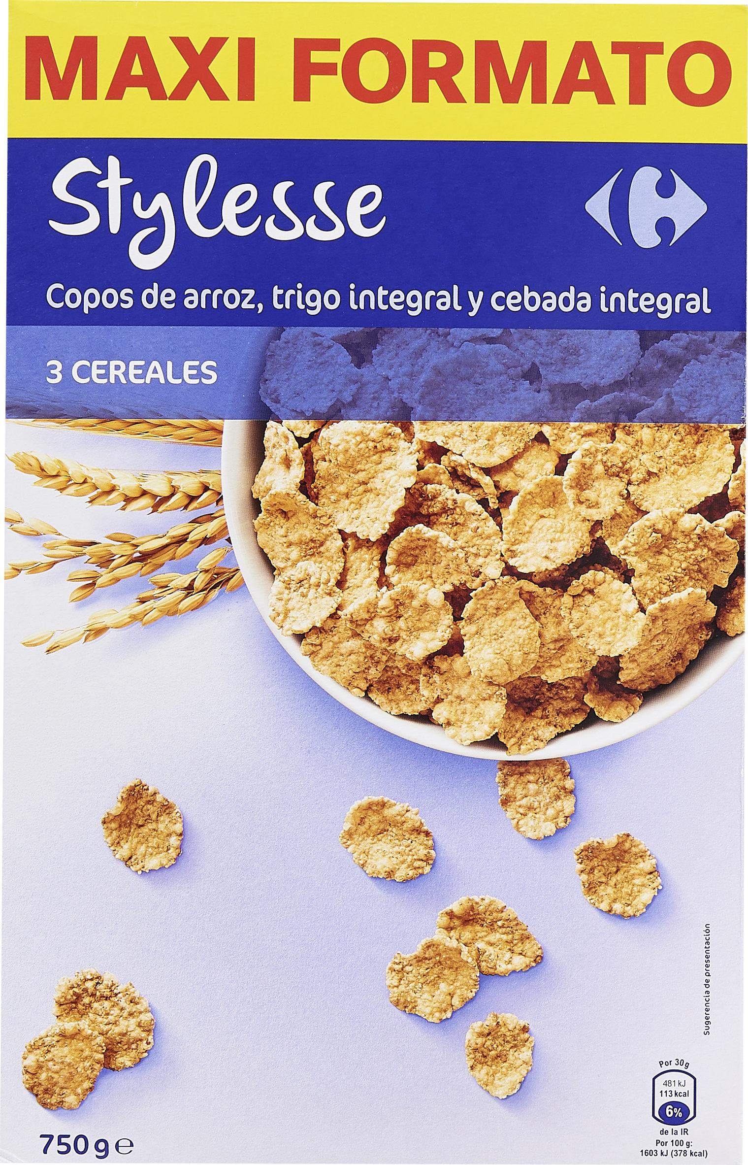 Stylesse Copos de arroz, trigo integral y cebada integral - Product