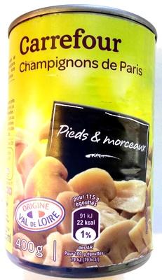 Champignons de Paris - Product - fr