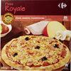 Pizza Royale cuite au feu de bois Édam, Jambon, Champignons - Produit