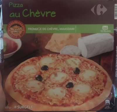 Pizza au chevre cuite au feu de bois - Product