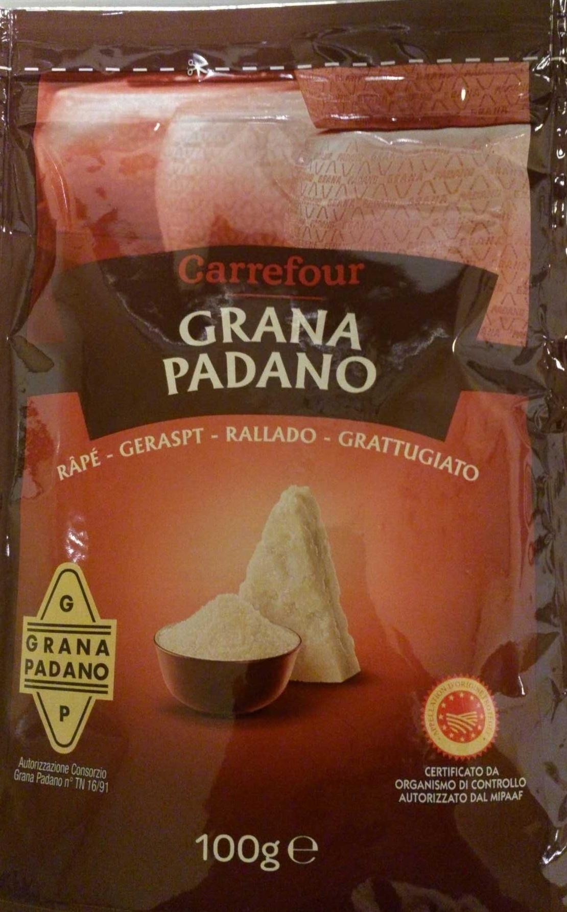 Grana Padano rallado - Producte