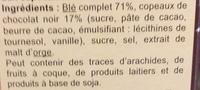 Fibra Flakes Choco - Ingredientes - fr