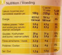 Riz cuisiné - Nutrition facts - fr