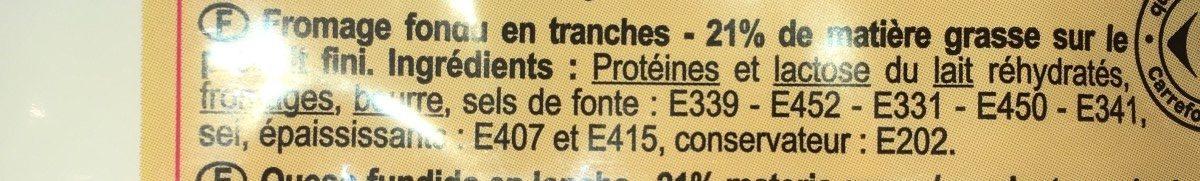 Croque-monsieur - Ingrédients - fr