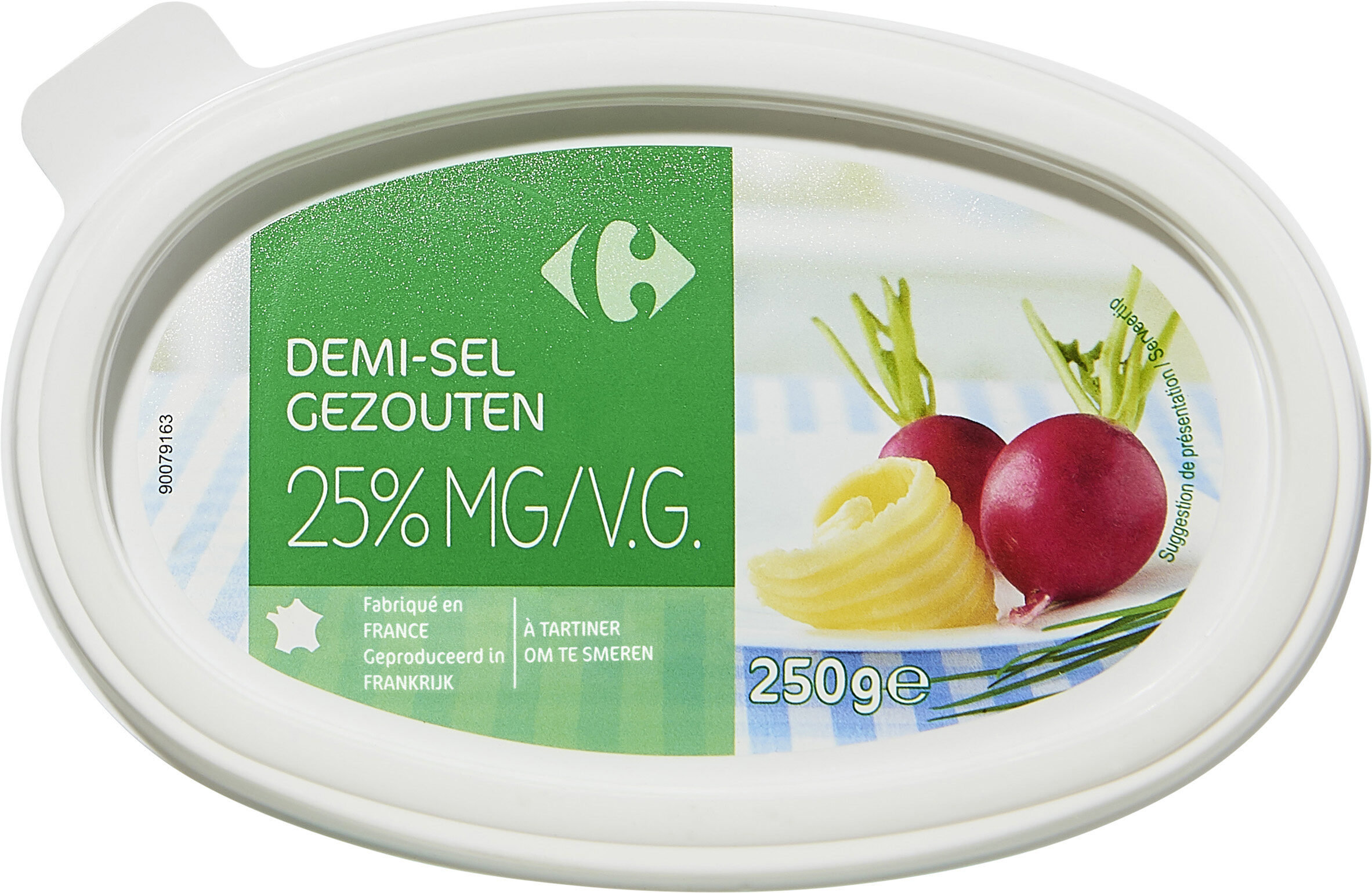 Demi-sel 25% mg - Product - fr
