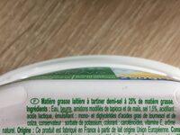 Demi-sel 25% mg - Ingredients - fr
