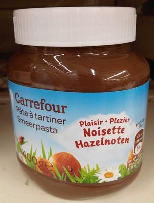 Pâte à tartiner plaisir noisette - Produit - fr