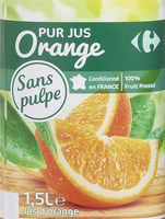 PUR JUS Orange pressé - Product - fr
