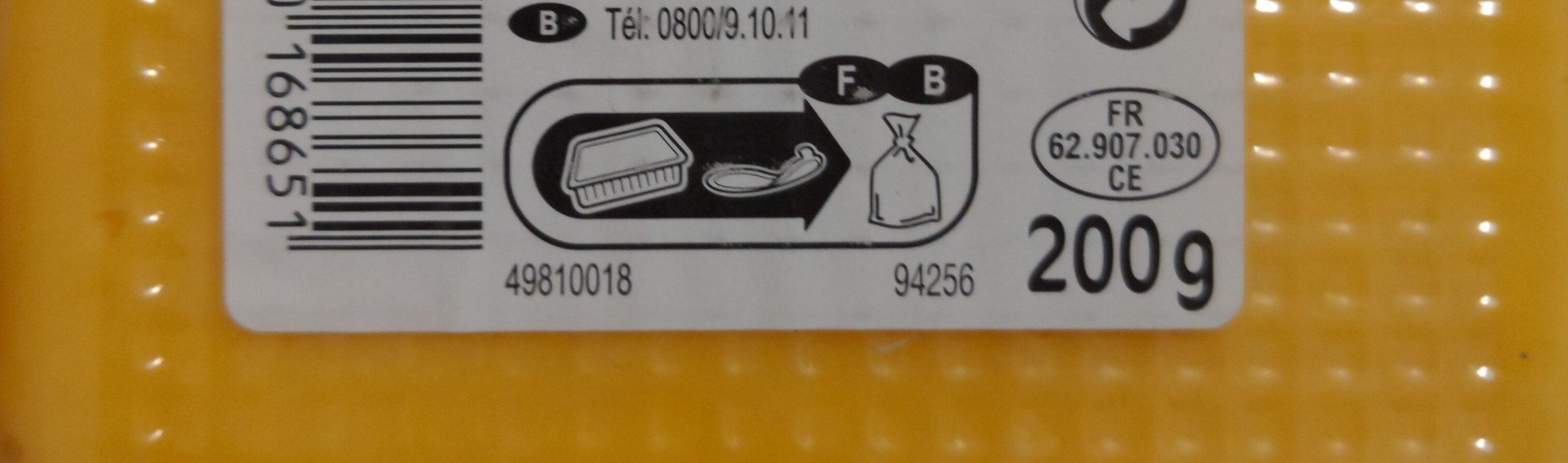 Cheddar - Instruction de recyclage et/ou information d'emballage - fr