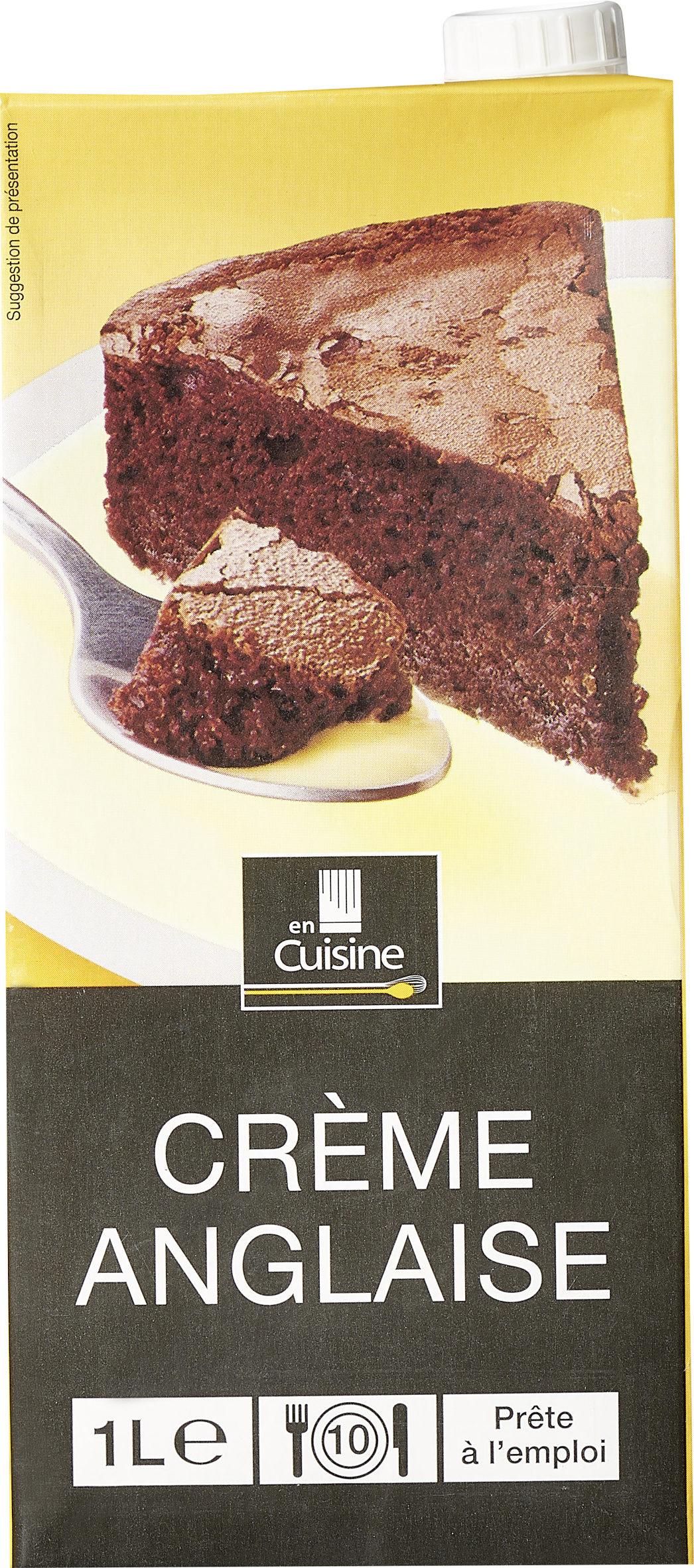 Crème anglaise - Produit