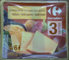 Assortiment de fromages pour raclette (26% MG) - 800 g - Carrefour - Product