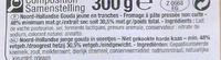 Noord-Hollandse Gouda Jeune (30,5% MG) - Ingrediënten - fr