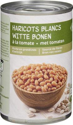 Haricots blancs à la tomate - Product - fr