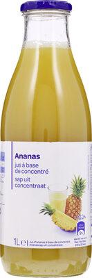 Jus d'Ananas à base de concentré - Produkt - fr