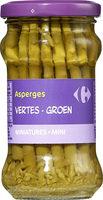Asperges vertes - Product