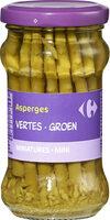 Asperges vertes - Produit - fr