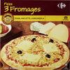 Pizza surgelée 3 fromages - Product