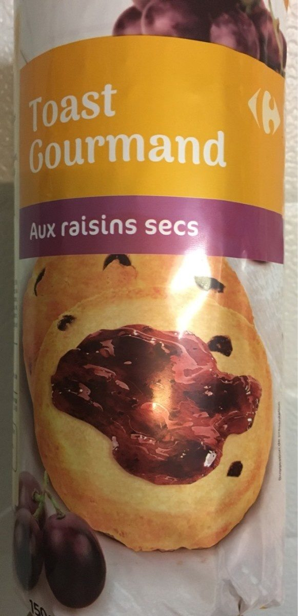 Toasts aux raisins - Produit - fr