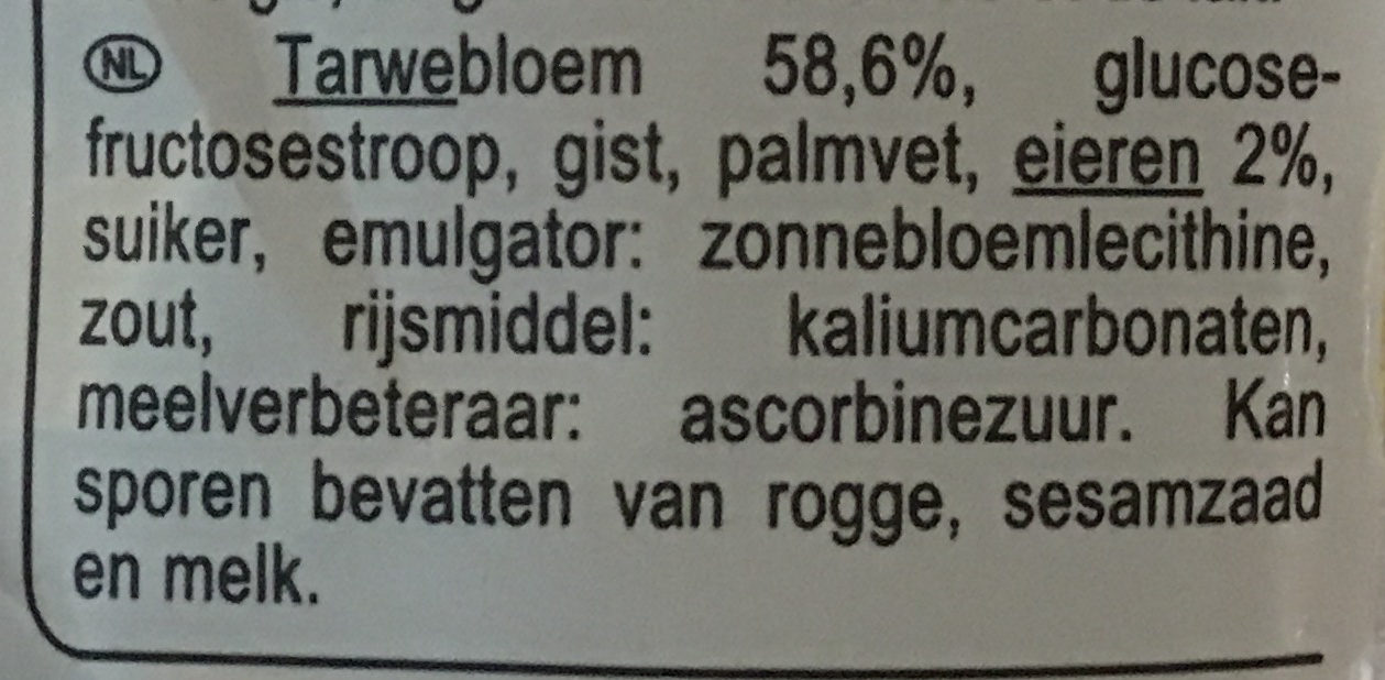 Toast gourmand brioché - Ingrediënten - nl