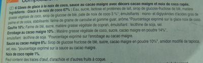 Coco - Ingredients - fr