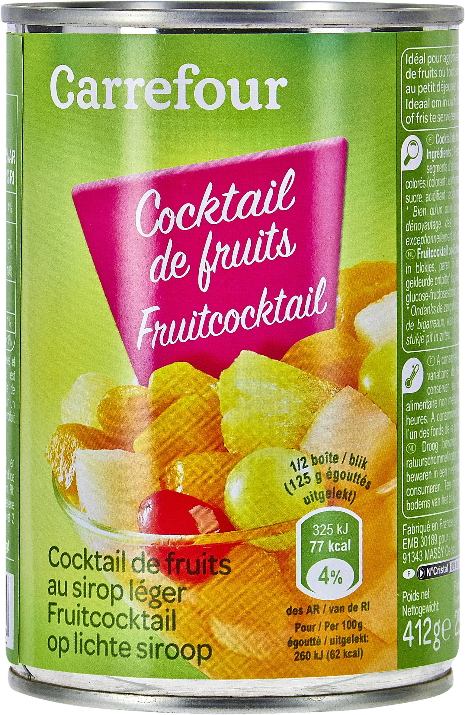 Cocktail 4 fruits - Prodotto - fr