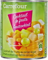 Cocktail de fruits, au sirop léger - Producto - es