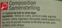 Frutas variadas - Ingredientes