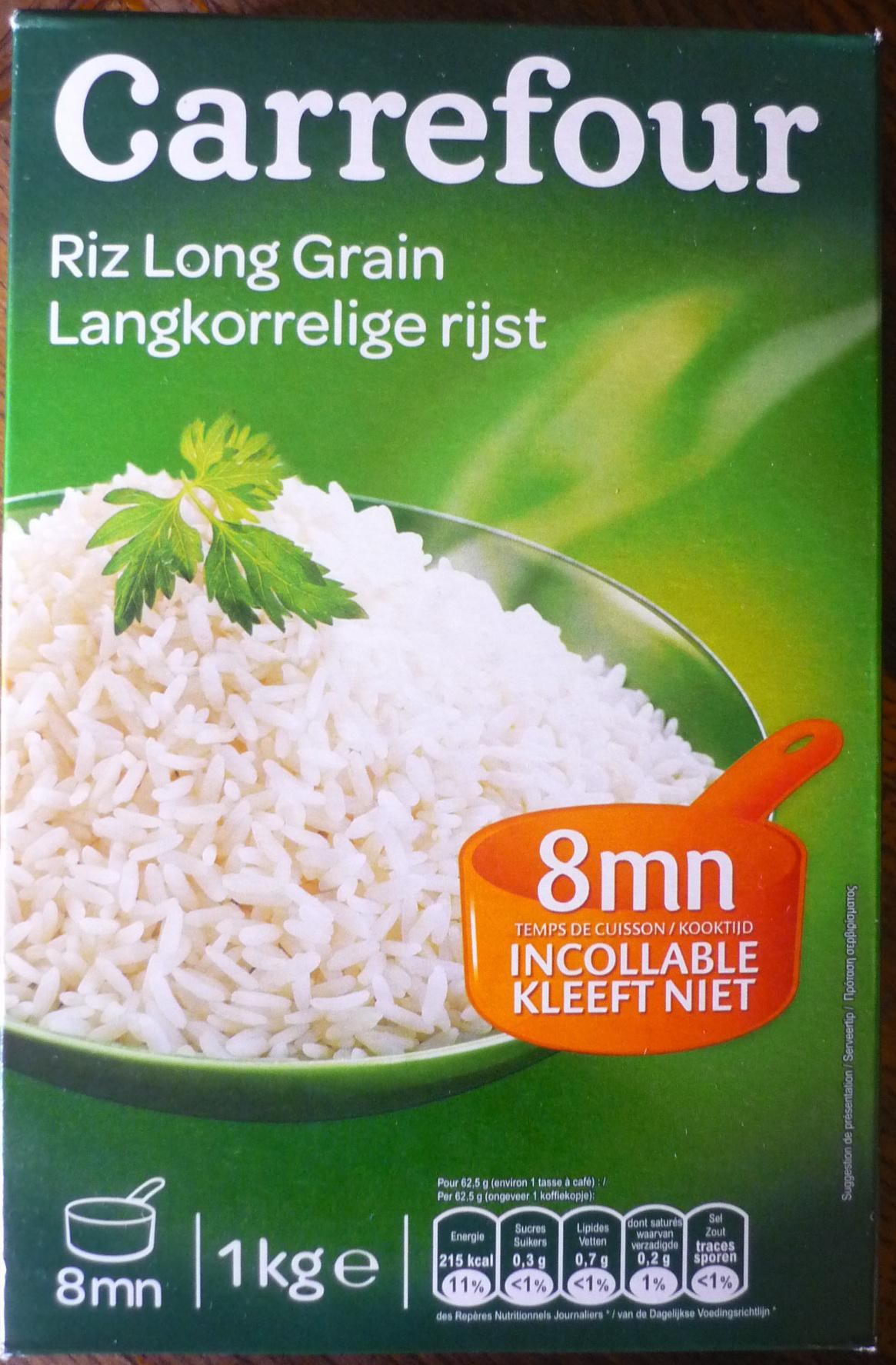 Riz long grain - Produit