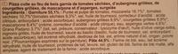 Pizza Venezia Cuite au Feu de Bois - Ingrediënten