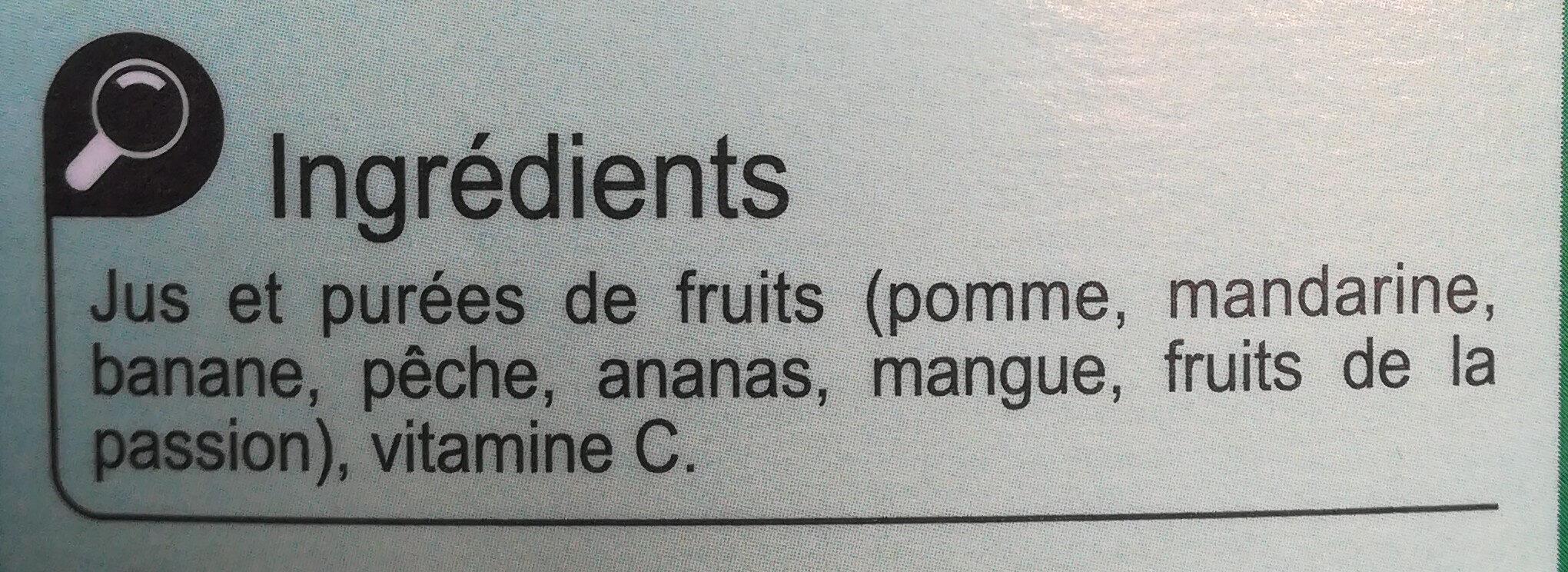 Pur jus Multifruits - Ingrediënten - fr