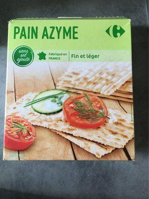 Pain azyme - Product