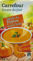 Velouté au Potiron - Produit