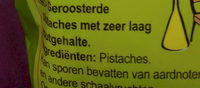 Pistaches grillées - Ingrediënten - nl