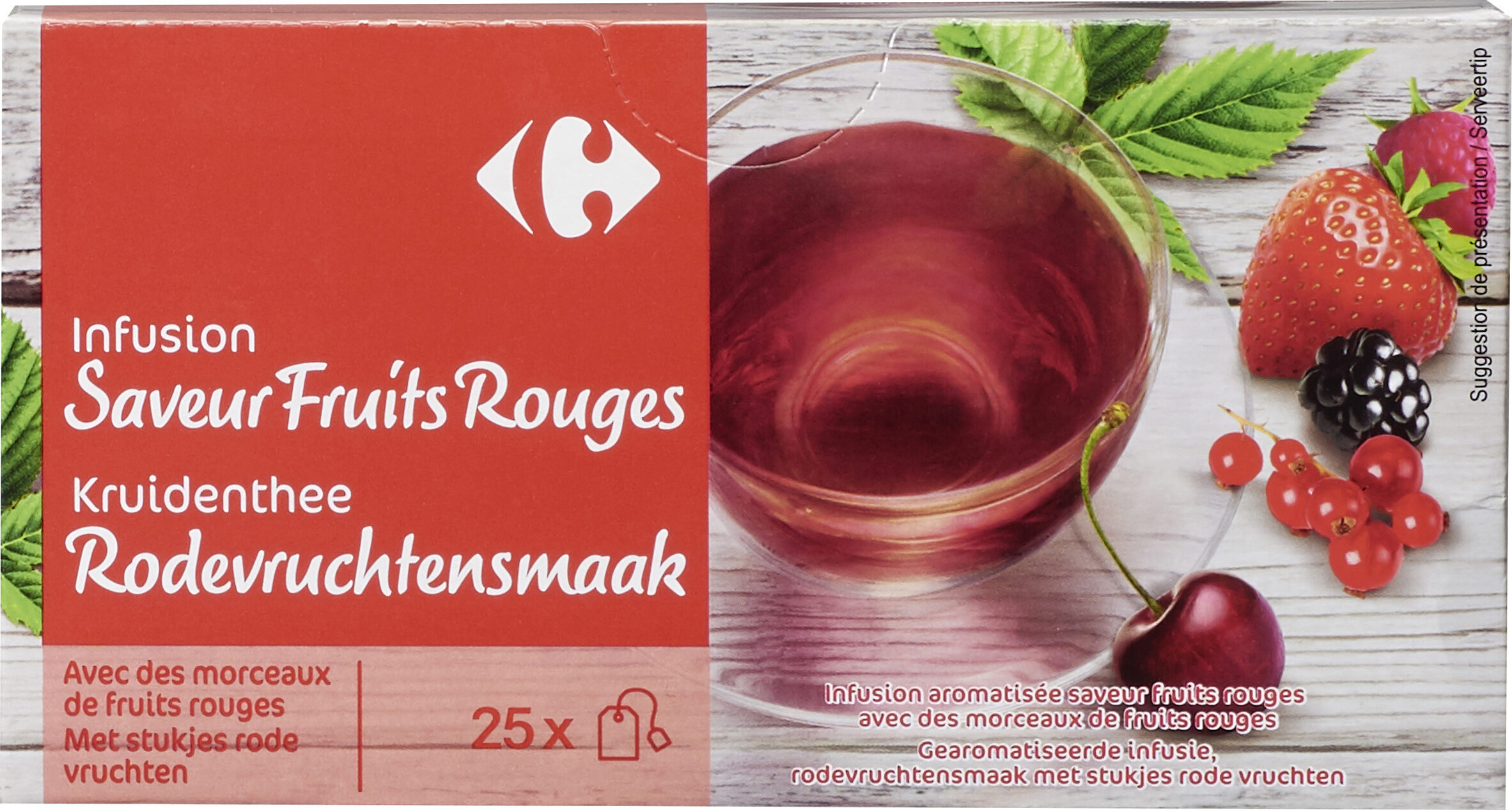 Infusion Fruits Rouges - Product - fr