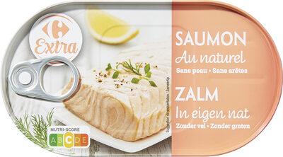 Saumon au naturel - Produit - fr