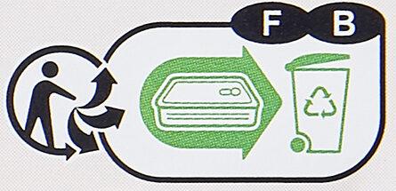 Saumon au naturel - Instruction de recyclage et/ou informations d'emballage - fr