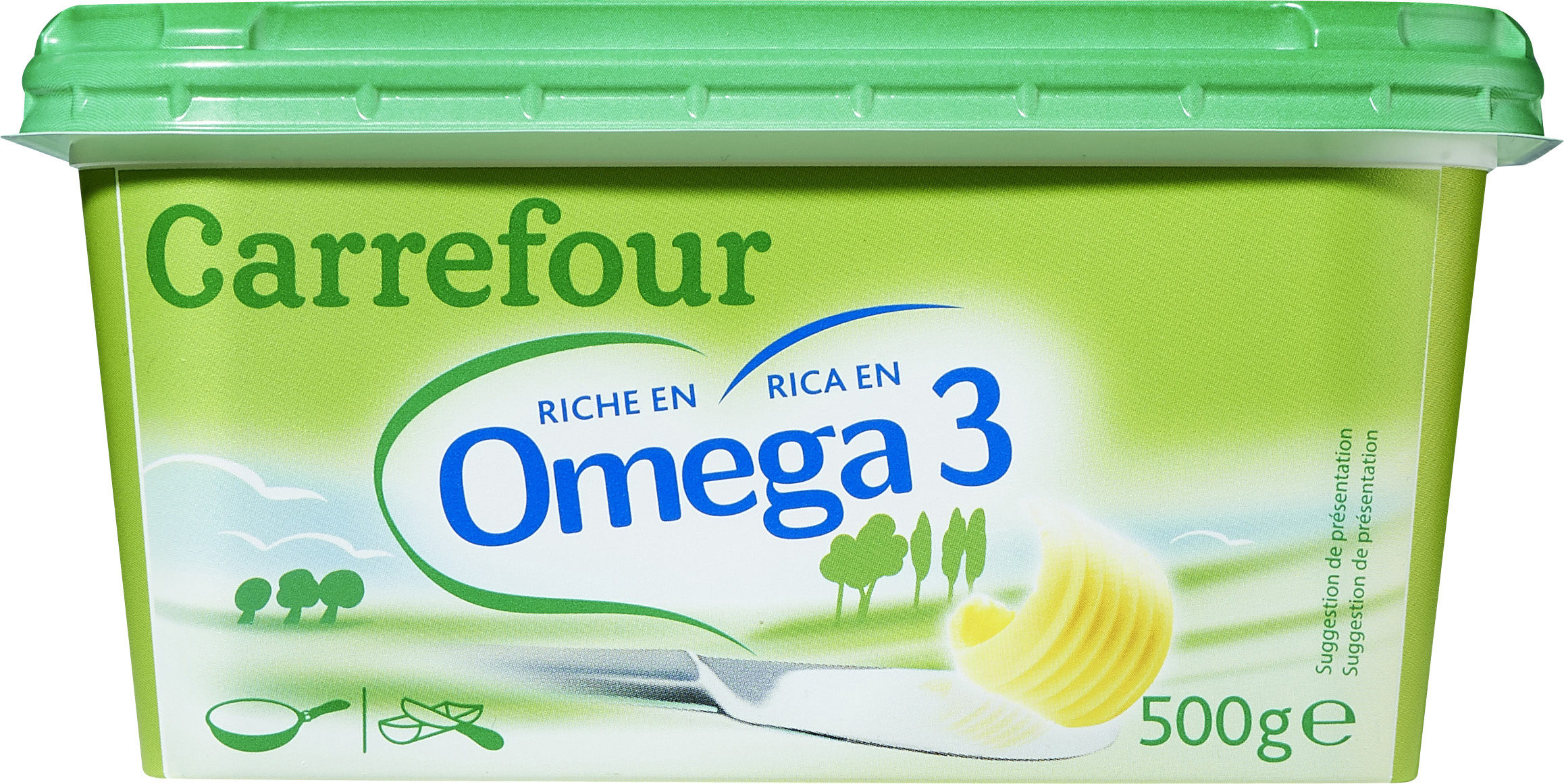 Margarina tres cuartos omega-3 - Producte - es