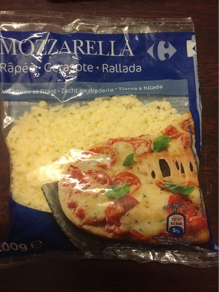 Mozzarella râpée - geraspte - rallada - Producto - es