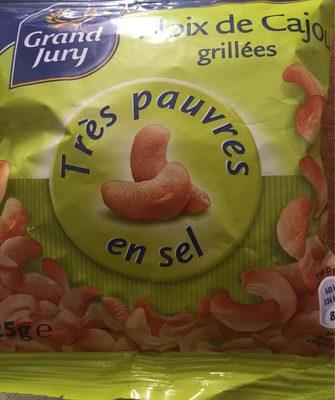 Noix de cajou grillées très pauvres en sel - Produit - fr