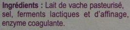 Fromage pour tartiflette (27 % MG) 4/6 personnes - Ingrédients - fr