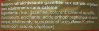 Coca light sans caféine - Ingredienti - fr