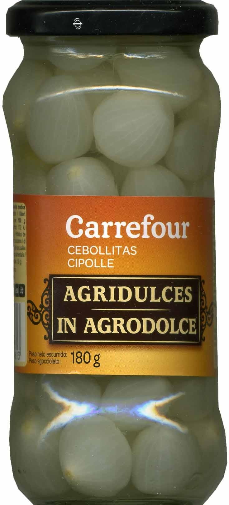 Cebollitas agridulces - Producto