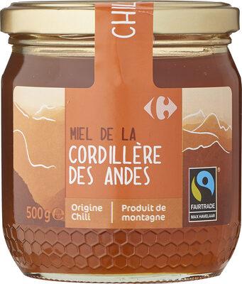 Miel de la Cordillère des Andes - Chili - Product - fr