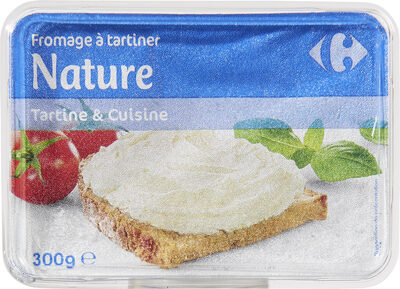 Fromage à tartiner Nature - Product - fr
